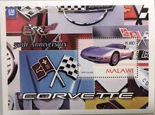 MALAWI 2004 Block 88 Chevrolet Corvette Automobile Sports Car Sporwagen Auto MNH