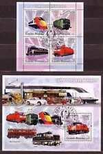 Trains, Railroads Postages Postal Stamps