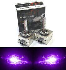 HID Xenon D3S Two Bulbs Head Light 12000K Purple Bi-Xenon Replace Lamp High Low