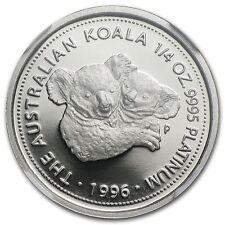 RARE ~ 1996 P ~ $25 PLATINUM PROOF ~ KOALA BEAR ~ 1/4~OZ ~ NGC PF~69 UC ~$868.88