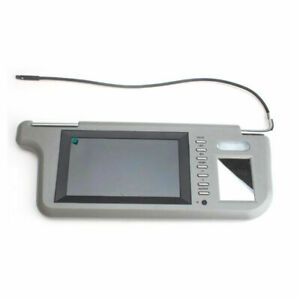 "7"" Car Sunvisor Rear View Mirror Screen Lcd Monitor DVD/VCD/GPS/TV SunVisor Sale"