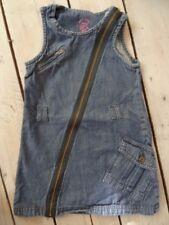 Robe sans manches en jeans bleu avec poches NKY GIRL Taille 4 ans
