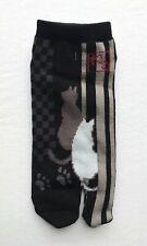 Nagomi NEKO Cat Japanese Split Toe Tabi Socks Womens Sz 6-8