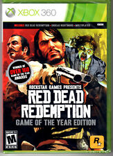 Red Dead Redemption Game Of The Year Edition Game For Xbox 360 NEW Sealed