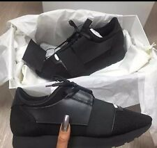 Balenciaga Black Women Race Runner Sneaker SOLD OUT In Stores. MULTIPLE COLORS