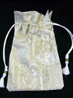 Renaissance Gothic Angels Tarot Card Drawstring Mojo Bag Cotton Pouch  FREE SHIP