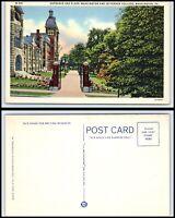 PENNSYLVANIA Postcard - Washington, Washington & Jefferson College Entrance O25