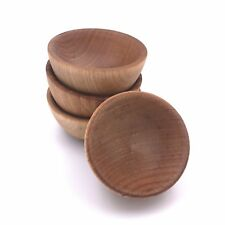 TreeSpirit by Lamson Maple Condiment Cups / Wooden Pinch Bowls - Set of 4