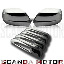 05-10 Jeep Grand Cherokee Chrome Mirror Cover Chrome Door Handle Cover