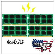 16GB 4x 4GB DDR3 PC3-12800 SODIMM 1600MHz Laptop RAM Memory Kit for Apple iMac