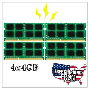 NEW 16GB 4x4GB Memory DDR3 1066 Apple iMac 3.06GHz Intel Core 2 Duo Late 2009
