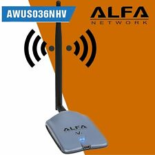 ALFA AWUS036NHV Antena WiFi USB Realtek RTL8188EUS ANTENA Wireless rompe muros