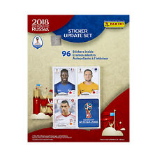 2018 PANINI WORLD CUP UPDATE STICKER SET OF 96 SHIPS FROM USA IN STOCK JULY 15TH