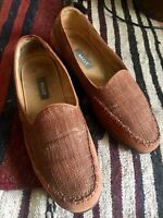 Bally Slippers in Canvas, Stubbs and Wootton Style, 9.0 D Made in Italy!