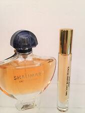 GUERLAIN SHALIMAR EAU DE PARFUM  .33OZ (10ML) GLASS SPRAY TRAVEL SAMPLE PERFUME