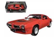 1973 Pontiac Firebird Trans Am Black 1:24 Diecast Model - 73243 Red
