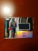 2019-20 Certified RC Bol Bol AUTO Freshman Fabric Jersey Patch - Nuggets