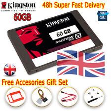 "Kingston SSDNow 60GB V300 SSD SATA III Solid State Drive 2.5"" 3D V-NAND Tech UK"