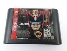 Judge Dredd SEGA Genesis Game (GENUINE ORIGINAL)