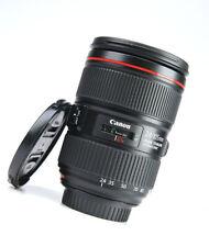 Canon EF 24-105mm MK II ( MK2 ) Image Stabilizer F4 L IS USM Lens +F/R Lens Caps