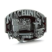 Vintage Machinist Belt Buckle Western Cowboy Native American (MACH-01)