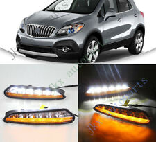 Switchback LED DRL Daytime Running Lamp Turn Signal For Buick Encore 12-15