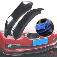 Pair Auto Winglet Front Bumper Lip Diffuser Side Skirts Splitters Canard Shovel