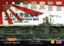 LIFECOLOR LFCS37 IMPERIAL JAPANESE NAVY LATE WWII - SET 2