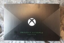 Microsoft Xbox One X Project Scorpio Edition (box only,) free shipping