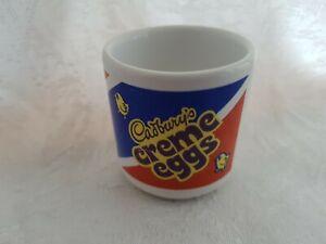 Cadburys Red, Blue & White Creme Eggs Ceramic Egg Cup  Advertising, Kitchenalia
