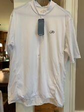 PERFORMANCE Cycle Bike Shirt Size Xl Polyester WHITE