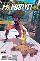 Ms. Marvel Comic Issue 1 Modern Age First Print 2019 Ahmed Jung Vlasco Herring