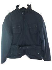 Barbour Black Lightweight Metallic International Size 18 (44) Jacket Waterproof