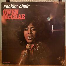 Gwen McCrae Rockin' Chair Soul RnB Rare LP Cat 2605 Winnie Hall Freddie Scott
