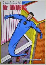 POWER PIN-UP Print - MR. FANTASTIC Vintage Art Marvel UK Distribution Reed FF