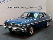 Danbury Mint 1970 Yenko Nova 350 Deuce 1/24 Diecast New Opened For Pics