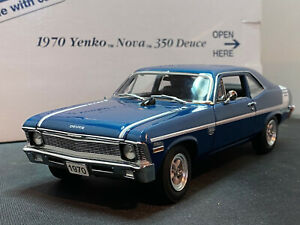 Danbury Mint 1970 Yenko Nova 350 Deuce 1/24 Diecast New Opened For Pics