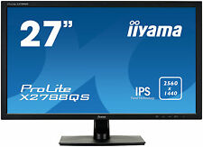 "iiyama ProLite X2788QS-B1 / 68,6cm(27"") IPS 2560 x 1440 WQHD Display schwarz"