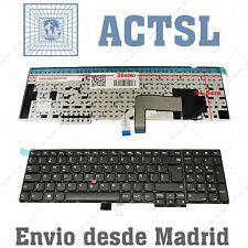 Teclado Español para IBM Lenovo ThinkPad W540