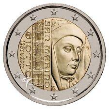 """**San Marino  2 euro 2017 Commerative. """"Giotto"""" ** In Stock!"""