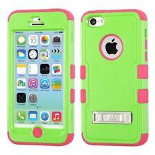Étuis, housses et coques avec clip verts iPhone 5c pour téléphone mobile et assistant personnel (PDA) Apple