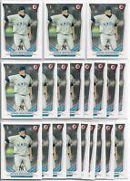 2014 Bowman Draft Jordan Montgomery (20) Card Paper Rookie Lot Yankees RC #DP114