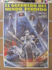 1967    EL GUERRERO DEL MUNDO PERDIDO. ROBERT GINTY
