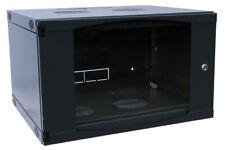 6U WALL MOUNT IT NETWORK SERVER Data CABINET 450MM DEEP DOOR LOCKS 12