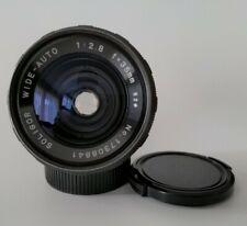 Soligor F=35mm 1:2.8 Wide Auto Lens monture M42 avec bouchons