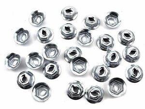 "For Toyota Lexus Scion Emblem & Trim PAL Nuts- Fits 5/32"" Studs- 25 nuts- #086"