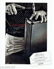 PUBLICITE ADVERTISING 116  2011   LVMH   atelier Louis Vuitton Lozinage