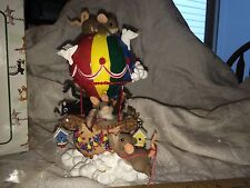 """Charming Tails """"Friendship Is A Colorful Ride"""" Nib The Whole Gang Mouse Rabbit"""