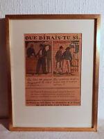 Grabado Francesa Plantilla Guy Arnoud Obra Fábrica Por Guerra Desempleo Obrero