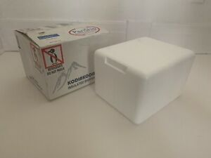 EPS Periship Styrofoam Foam Insulated Shipping Cooler + Box 9 x 11 x 7 H